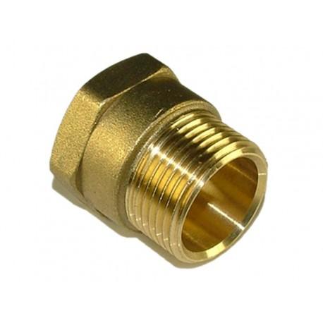 Male to Female Socket Brass